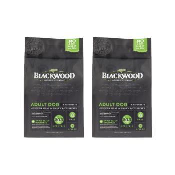 【Blackwood】柏萊富 低卡保健 老犬 減肥犬 雞肉+米 5磅 X 2包