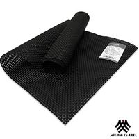 【M.B.H】辛吉德爾PVC防潑水編織桌旗 黑33x130cm