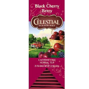 【Celestial詩尚草本】美國原裝進口 北美最大茶品製造商 黑櫻桃莓果茶2盒優惠組(25獨立包 x 2)