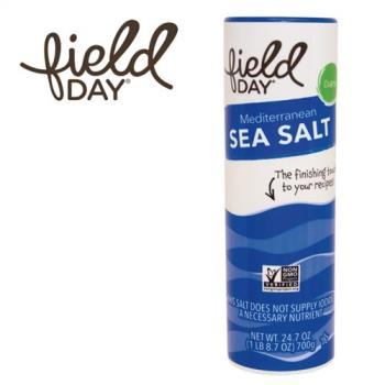 【Field Day 踏青日】西班牙原裝進口 地中海天然顆粒海鹽2罐組(700g x 2)