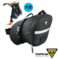 TOPEAK Aero Wedge Pack Large後座墊袋 黑
