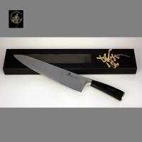 臻 刀具 / 大馬士革鋼系列-300mm廚師刀-DC828-2BL
