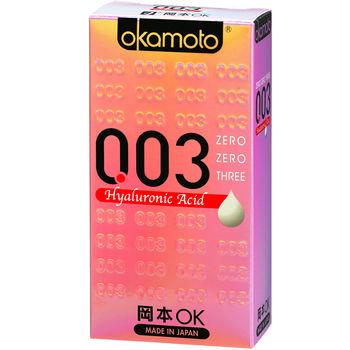 【okamoto岡本OK】 -003 HA極薄水潤 6片裝