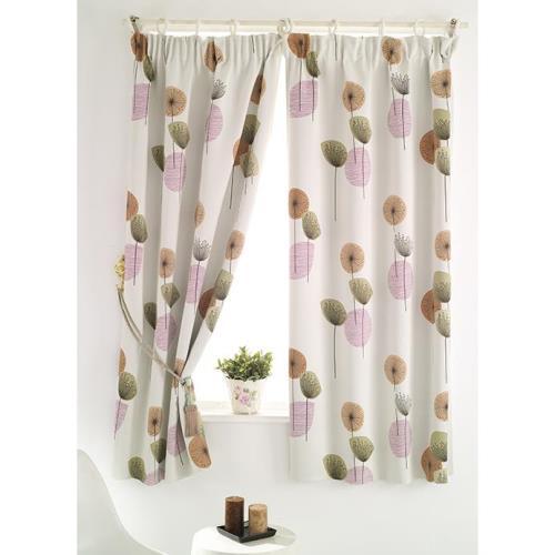 【巴芙洛】花之頌遮光窗簾300cm×210cm