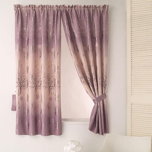 【巴芙洛】左岸有愛印花落地遮光窗簾300cm×210cm