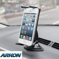Arkon /Slim-Grip® Ultra iPhone6/iPad mini/hTC等調整型吸盤車架組(SM615-R)