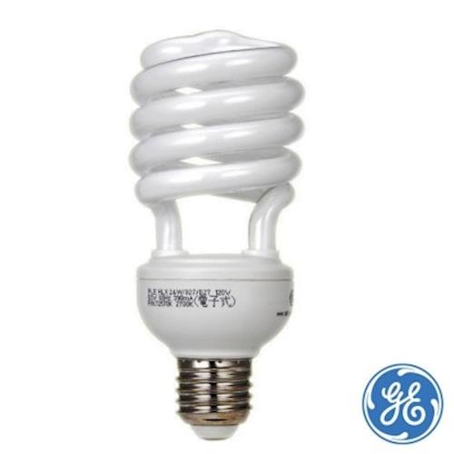 奇異GE螺旋燈泡 T3-24W(4入)