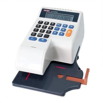 VERTEX世尚 微電腦光電+自動夾紙中文支票機 W-9000 (買就送專用墨球一組)