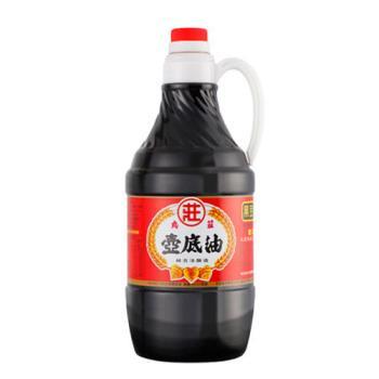 [丸莊醬油] 手工純釀陳年醬油1600毫升2瓶+壺底油1600毫升2瓶+甜酒豆腐乳380克2罐
