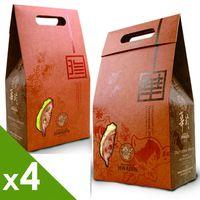 [華珍]手燒煎餅18入隨手包(花生/南瓜子/黑豆/芝麻)-4盒組