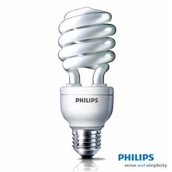 PHILIPS 飛利浦 Helix 27W螺旋省電燈泡3入特惠組-網 (白光/黃光)