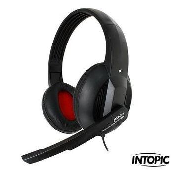 INTOPIC 廣鼎-頭戴式耳機麥克風 JAZZ-380