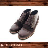 DOGYBALL Miller都會輕式牛皮短靴/咖啡