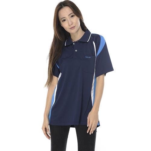 【SAIN SOU】MIT吸濕排汗短袖POLO衫(女款)T26408