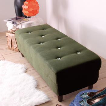 【IDeng】艾瑪 獨立筒水鑽沙發椅/凳