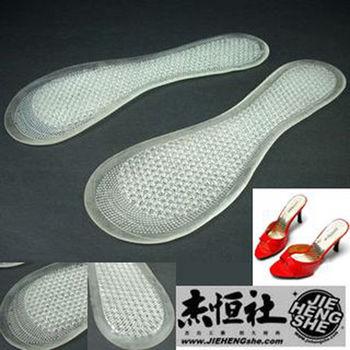 JHS杰恆社鞋墊款48舒適對一矽膠鞋墊蜂窩鞋墊按摩鞋墊女士七分墊
