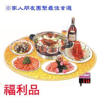 【福利品】E-TOP 手動旋轉美食桌 E-6700
