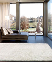 范登伯格  嘉年華比利時進口長毛地毯/地墊-白03-140x200cm