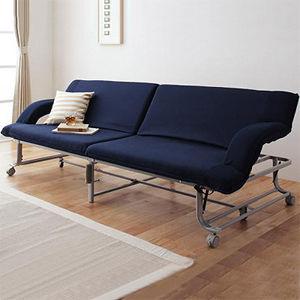 【IDeng】簡易收納 折疊沙發床