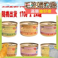 【SEEDS】聖萊西 特級金貓大罐-口味隨機出貨 170G x 24入