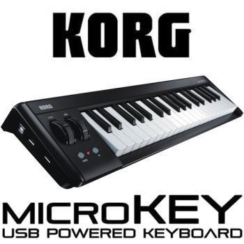 【KORG】37鍵USB控制鍵盤-公司貨保固 (micro key)