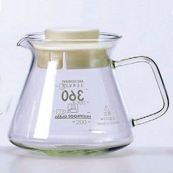 SYG精緻耐熱花茶咖啡壺BHG360S-白蓋