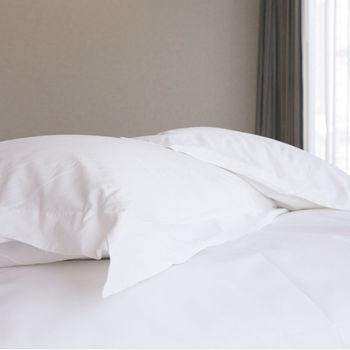 【法式寢飾花季】優雅生活-五星級飯店御用平紋枕套4入組