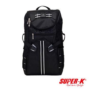 《SUPER-K》背部透氣多功能休閒後背包-SHB21521☆超值有型