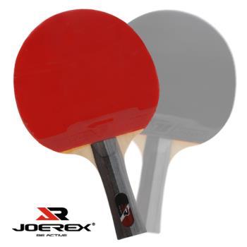 《JOEREX》一星長柄雙反膠乒乓球拍/桌球拍J101-2入1組
