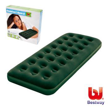 Bestway 單人高級植絨充氣床墊 綠