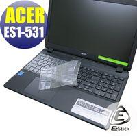 【EZstick】ACER Aspire E15 ES1-531 系列專用 奈米銀抗菌 TPU 鍵盤保護膜