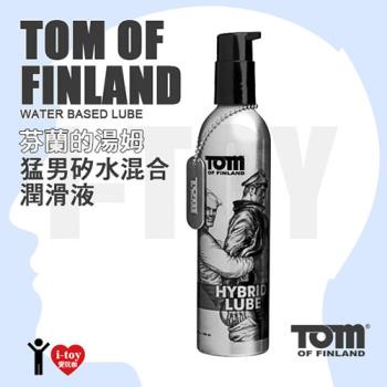 美國 XR brands 芬蘭的湯姆 猛男矽水混合潤滑液 TOM OF FINLAND Hybrid Lube 8oz
