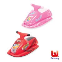 Bestway 35X18吋充氣比賽坐騎-粉紅,紅
