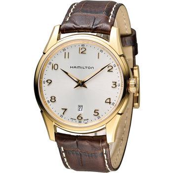 漢米爾頓 Hamilton Jaazmaster 時尚石英錶 H38541513 玫瑰金色