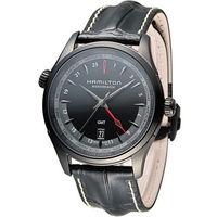 漢米爾頓 Hamilton Jazzmaster GMT 瑞士自動機械錶 H32685731 黑