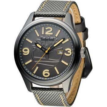 天伯嵐 Timberland 大錶徑個性潮流腕錶 TBL.14476JSU/13 綠
