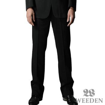WEEDEN 鍺合金機能纖維平面西裝褲‧驅動黑