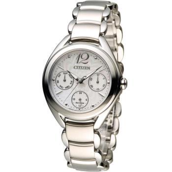 星辰 CITIZEN L系列 花舞漾動時尚腕錶 FD2020-54D 白