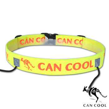 CAN COOL敢酷 25mm寬 (無補給)運動號碼帶(黃橘) C160313007