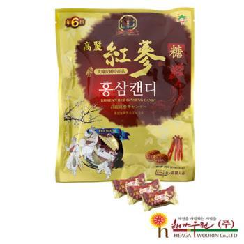 【韓流小舖】 韓國原裝 高麗紅蔘糖 (200g/包)