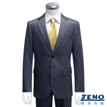 ZENO傑諾 型男時尚宴會修身西裝外套‧深紫46~54