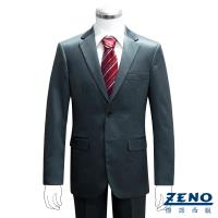 ZENO傑諾 型男時尚修身西裝外套‧土耳其藍46~52