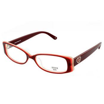 Anna Sui 安娜蘇 甜蜜花園愛心造型眼鏡(經典紅) AS503296