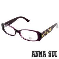 Anna Sui 安娜蘇 甜蜜蝴蝶花園造型眼鏡(紫色) AS505731