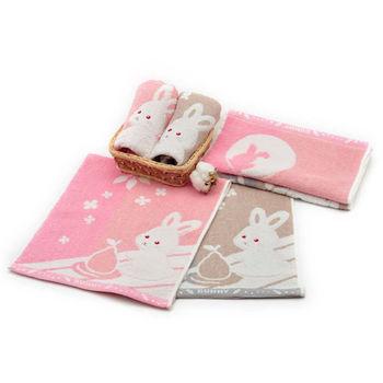 MGHD|寶貝寵兒無撚紗BUNNY兔毛巾(6入)