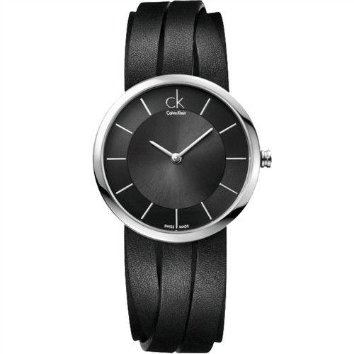 CK Calvin Klein 經典簡約石英腕錶 K2R2S1C1