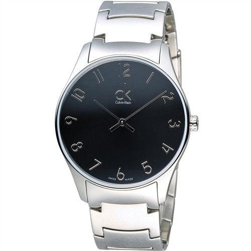 CK Calvin Klein Classic 經典紐約時尚石英腕錶 K4D2114X