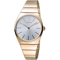 CK Calvin Klein Supreme系列極簡手鍊腕錶 K6C2X646