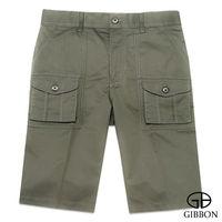 GIBBON 經典美式口袋工作短褲‧苔綠31~42