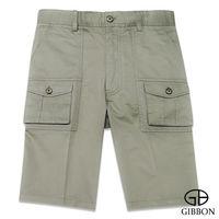 GIBBON 經典美式口袋工作短褲‧淺草綠31~42